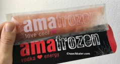 amafrozen vodka energy love cool