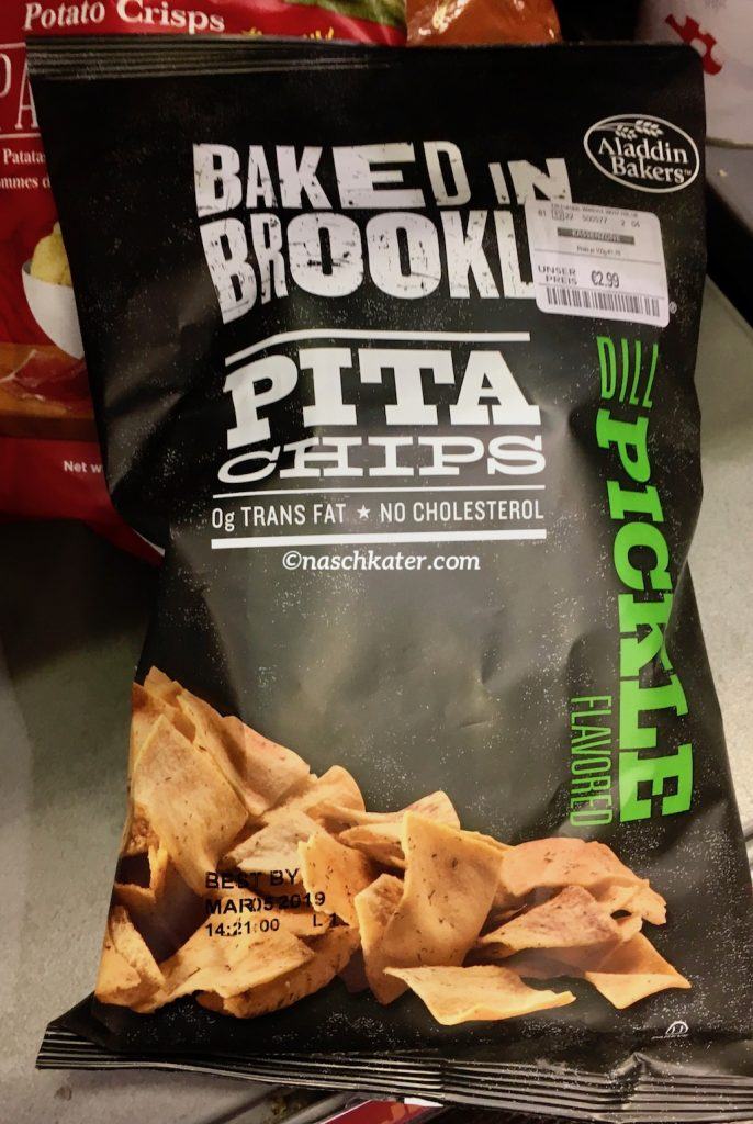 Baked in Brooklyn Pita Chips pickle