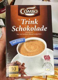 Combo Trink Schokolade