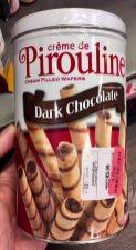 Creme de Pirouline Dark Chocolate Röllchen Dose