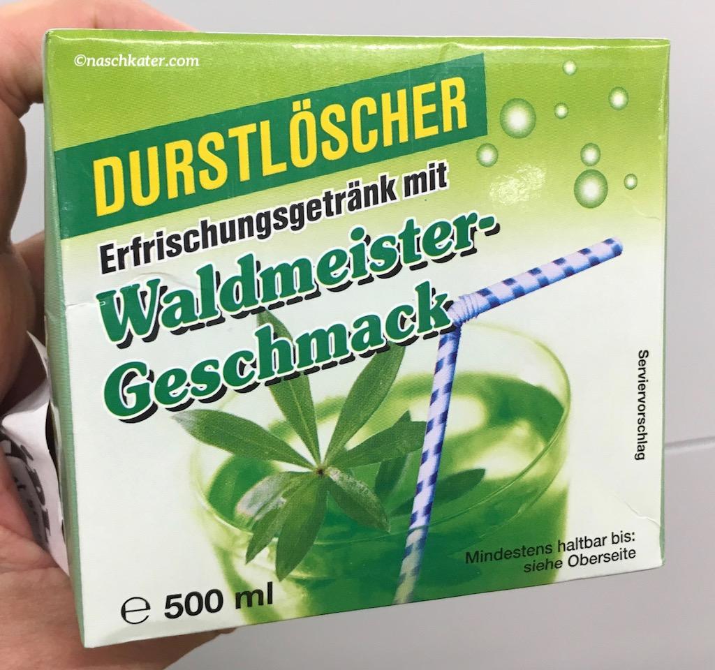 Durstlöscher Erfrischungsgetränk mit Waldmeister-Geschmack