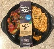 Popup Menü Gyros Art Junkfood