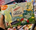Tabaluga Drachen-Milcheis Vanille und Waldmeister Eiskrem