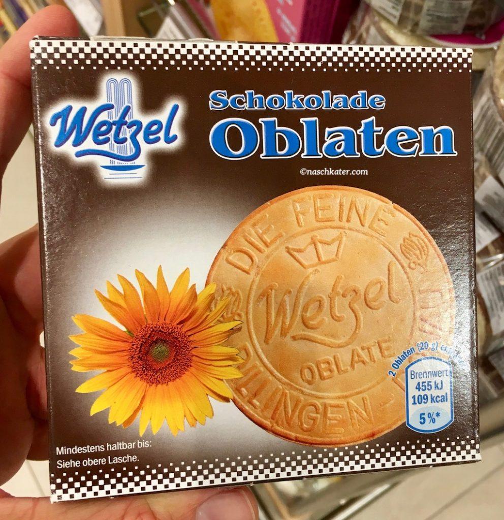 Wetzel Oblaten Schokolade