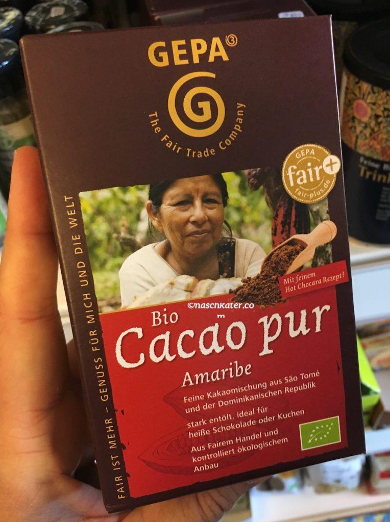 gepa Biocacao pur Amaribe fair