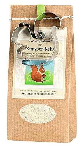 Chiemgaukorn Bio-Backmischung Knusperkekse Eichhörnchen