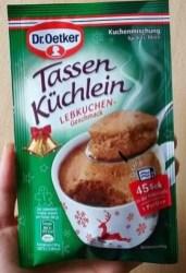 Dr Oetker Tassenküchlein Lebkuchen