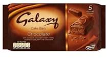 Galaxy Cake Bars Chocolate