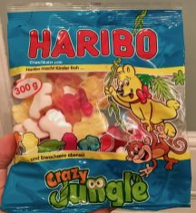 Haribo Crazy Jungle Weingummi