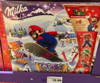 Milka Mario Bros Adventskalender