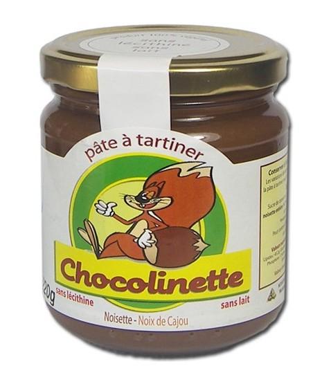 Noiseraie Chocolinett Haselnussaufstrich Spread Eichhörnchen