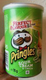Pringles Sour Cream Deutschland 70 Gramm Midi-Dose