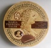 Salzburg Schokolade Maria Theresia Taler Schachtel