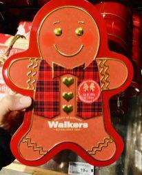 Walkers Schmuckdose Lebkuchenmännchen 300 Gramm
