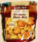 Aldi Trader Joe's Erdnuss-Mais-Mix 200g Pikante Mischung