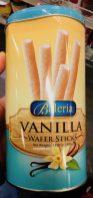 Baleria Vanilla Wafer Sticks Waffelröllchen 370g