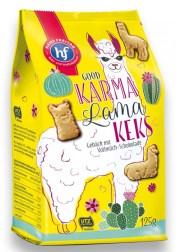 Hans Freitag Good Karma Lama Keks Gebäck mit Vollmilch-Schokolade 125g