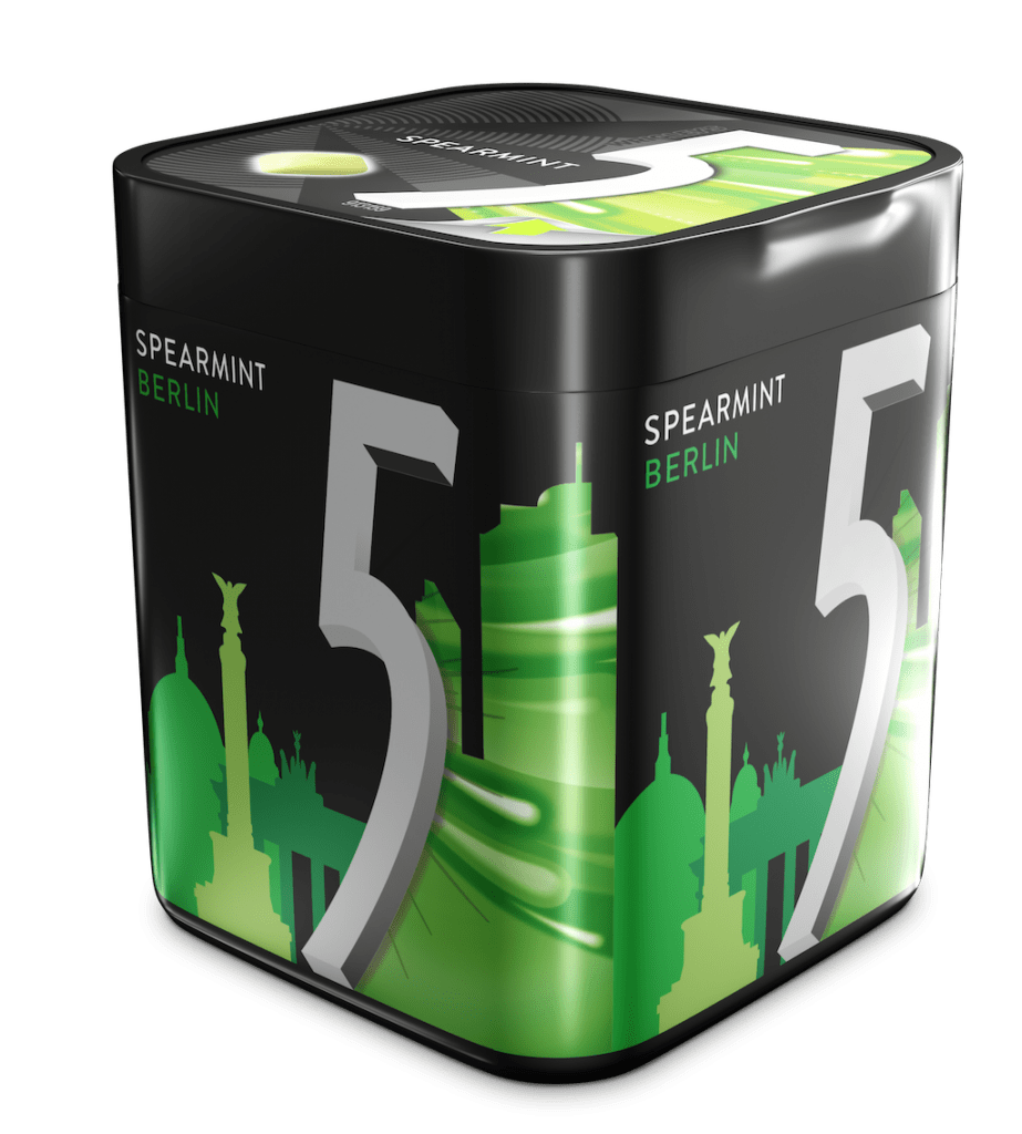 Mars_Wrigley_Confectionery_5GUM_City_Edition_Dose_Spearmint_Berlin_Dragees
