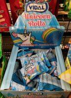 Vidal Unicorn Rolls Einhorn Fruchtgummi Rolle