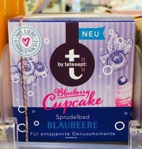 tetesept Blueberry Cupcake Sprudelbad Blaubeere