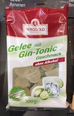 Berggold Gelee mit Gin-Tonic gesehen auf der IGW Berlin 2019