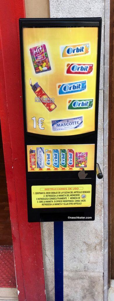 Kaugummiautomat Orbit Spanien