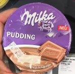 Milka Pudding Alpenmilch Schokolade Kühlregal