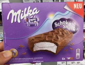 Milka SchokoSnack aus dem Kühlregal