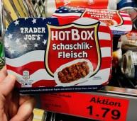 Aldi Trader Joe's HotBox Schaschlik-Fleisch