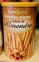 BonArea barquillos rellenos crema de Almendra Waffelröllchen