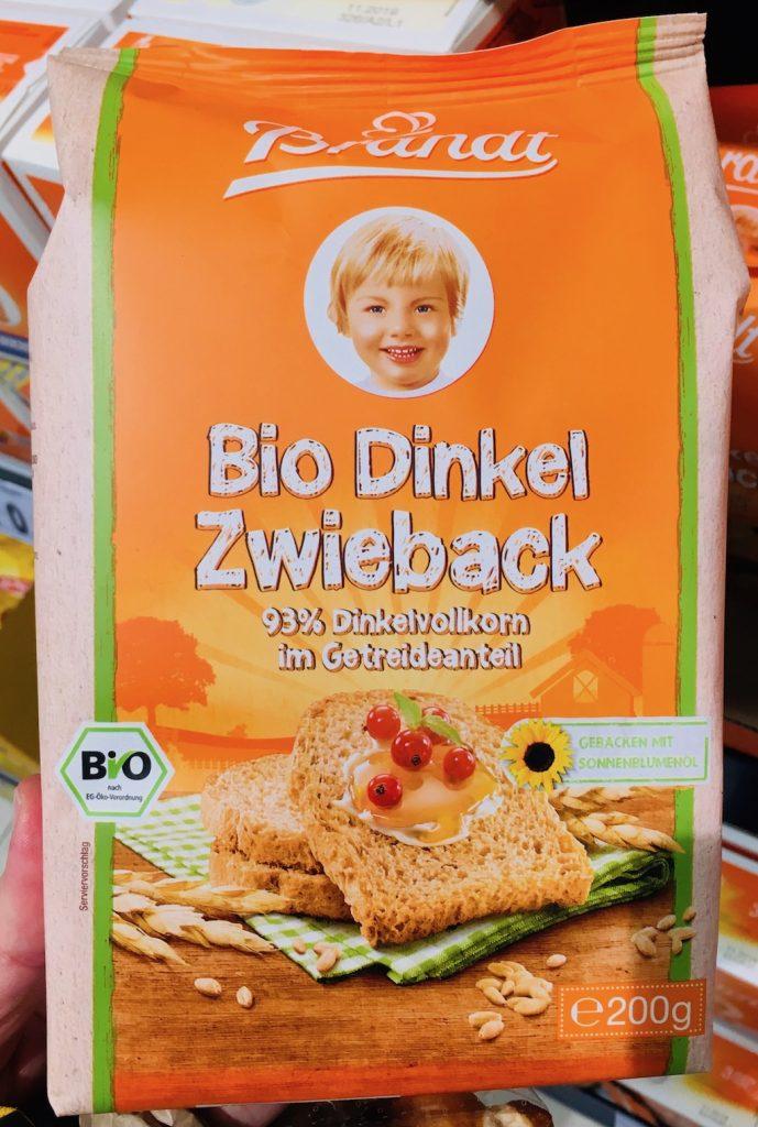 Brandt Bio Dinkel Zwieback 200g