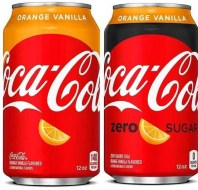 Coke Zero Orange Vanilla
