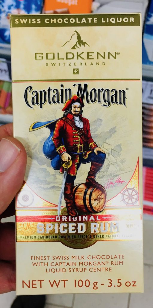 Goldkenn Captain Morgan Spiced Rum Schokolade 100 Gramm