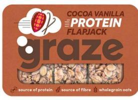 Graze Protein Cocoa Vanilla Flapjack 53g