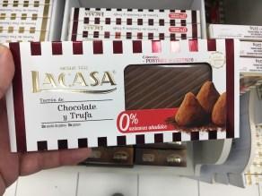 Lacasa Turron de Chocolate y Trufa