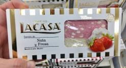 Lacasa Turron de Nata y Fresa