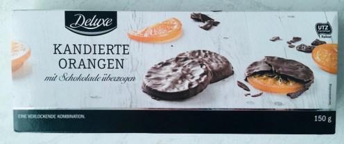 Lidl Deluxe Kandierte Orangen mit Schokolade überzogen