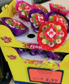 Look-o-Look Bluemstrauß Weingummi Flowers Valentinstag