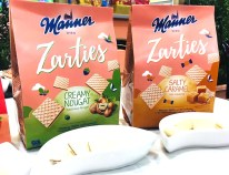 Manner Zarties Nougat und Caramel ISM 2019
