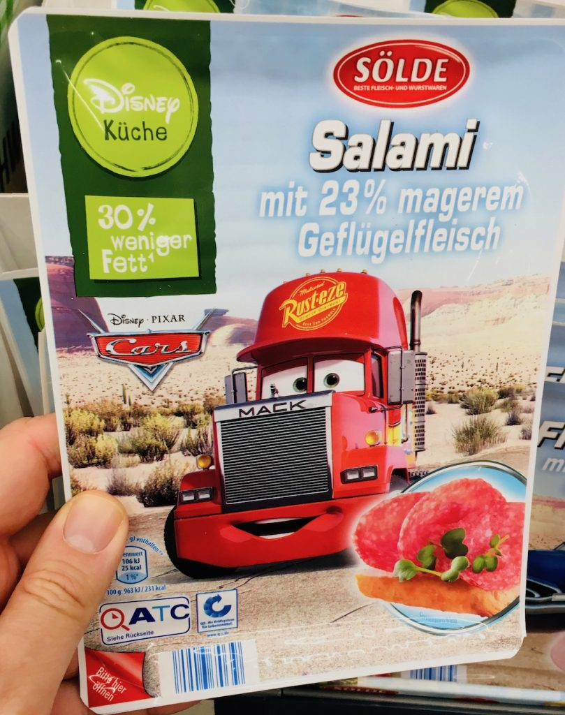 Sölde Salami Cars Lizenz