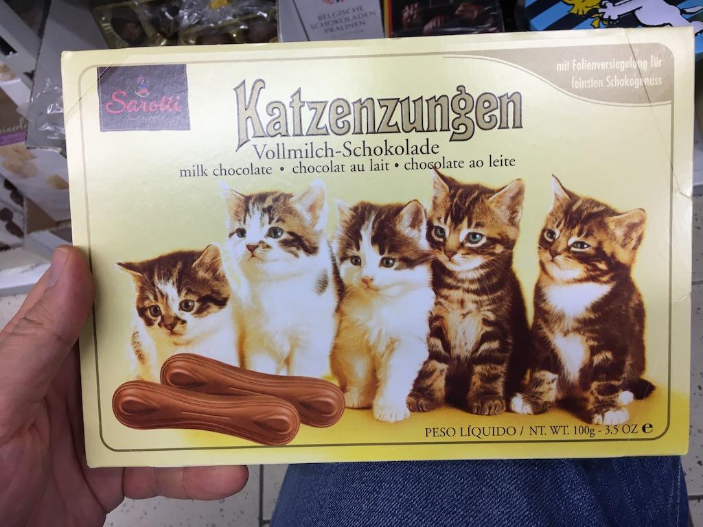 Sarotti Katzenzungen Vollmilch 100 Gramm