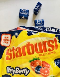 Starburst Very Berry Blueberry Kaubonbons