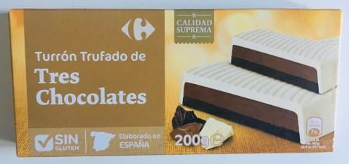 Turrón Trufado de Tres Chocolates Spanien
