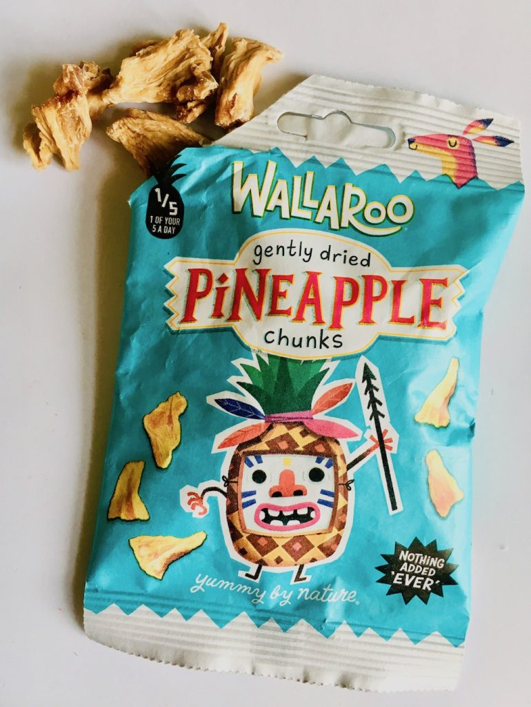 Wallaroo Gently dried Pineapple Chunks