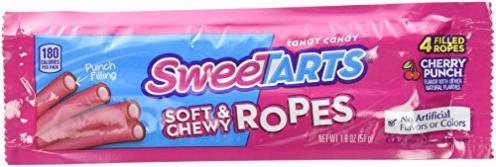 Nestlé SweetTarts Soft & Chewy Ropes Schnüre Kirsche Punsch