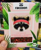 raccoon Erdbeere Schokolade Bio Protein Choc 22% Protein mit Kokosblütenzucker