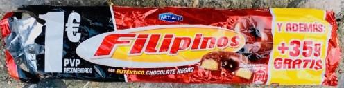 Artiach Filipinos Rundkekse mit Loch Schokoglasur