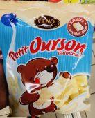Krasse Sache: Marshmallows mit weißer Schokolade überzogen: Cemoi Petit Ourson Guimauve.