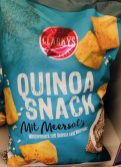 Clarkys Quinoa Snack mit Meersalz