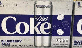 Noch nicht, sieht aber geil aus und erinnert an die gleiche Geschmacksrichtung, die Red Bull letzten Sommer (2018) rausgebracht hatte: Coke Diet mit Blueberry Acai